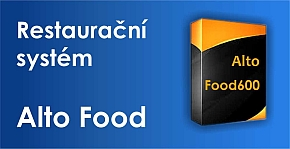 Restaurační software Alto Food 600