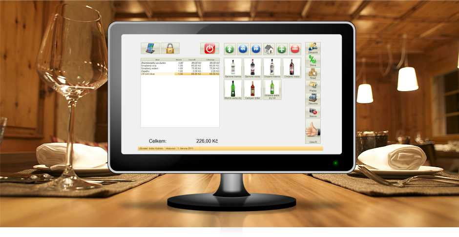 Software pro restaurace POS Expert